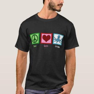Peace Love Octopus T-Shirt