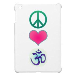 Peace, love, om ipad mini case