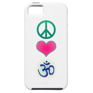 Peace, love, om Iphone5 case iPhone 5 Covers