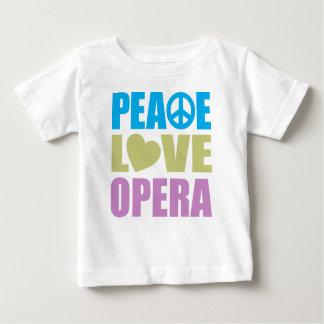 Peace Love Opera Baby T-Shirt
