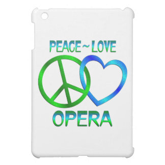 Peace Love OPERA Case For The iPad Mini