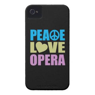 Peace Love Opera iPhone 4 Case