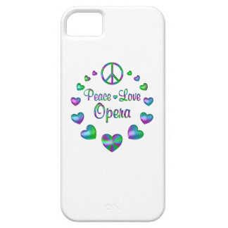 Peace Love Opera iPhone SE/5/5s Case