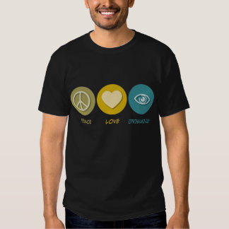 Peace Love Ophthalmology T-Shirt