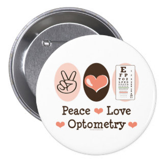 Peace Love Optometry Button
