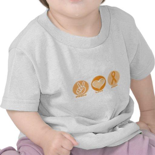 Peace Love Orange Hope Shirt