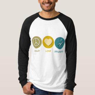 Peace Love Orthodontics Tee Shirt
