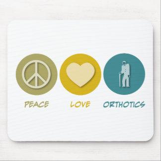 Peace Love Orthotics Mouse Pad