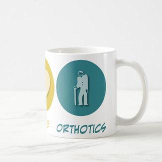 Peace Love Orthotics Classic White Coffee Mug