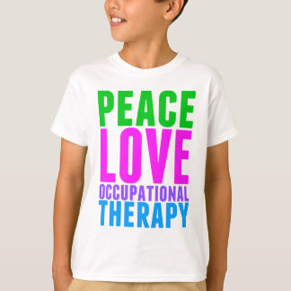 Peace Love OT Kids T-Shirt