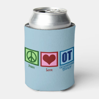 Peace Love OT Occupational Therapy Can Cooler