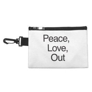 Peace, Love, Out Accessories Bags