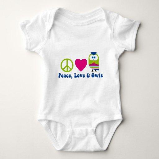 Peace, Love, Owls Shirt