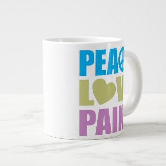 Peace Love Paint Jumbo Mugs