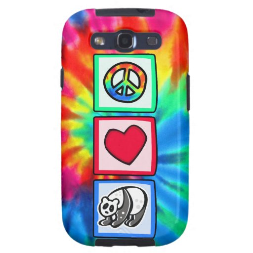 Peace, Love, Pandas Galaxy SIII Case