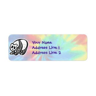 Peace, Love, Pandas Label