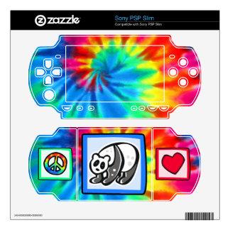 Peace, Love, Pandas Sony PSP Slim Decals