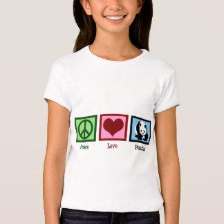 Peace Love Pandas T-Shirt