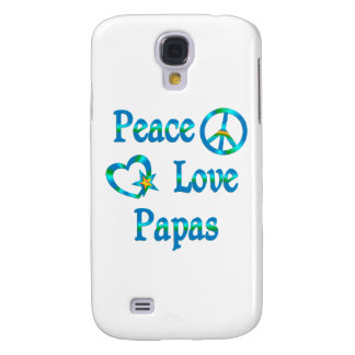 Peace Love Papas Samsung Galaxy S4 Cover