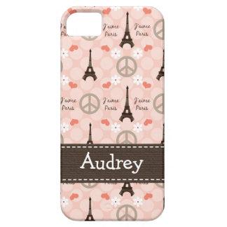 Peace Love Paris iPhone SE/5/5s Case