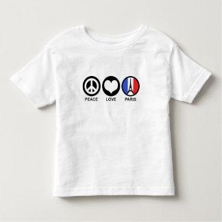 Peace Love Paris T-shirt