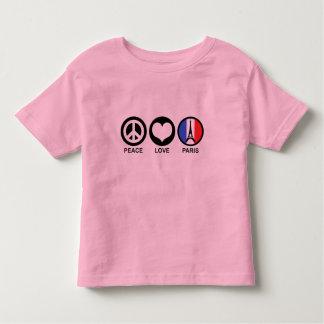 Peace Love Paris Toddler T-shirt