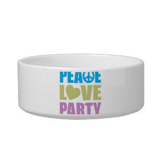 Peace Love Party Bowl