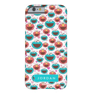 Peace & Love Pattern | Add Your Name Barely There iPhone 6 Case