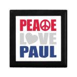 Peace Love Paul Jewelry Box