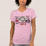 Peace Love Paul T Shirt