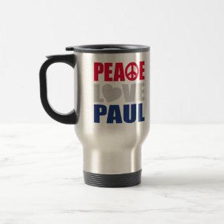 Peace Love Paul Travel Mug