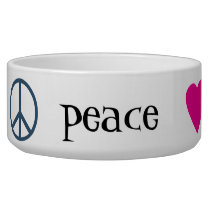 Peace Love Paws Bowl