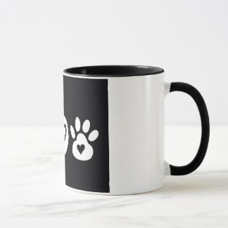 Peace Love Paws Mug