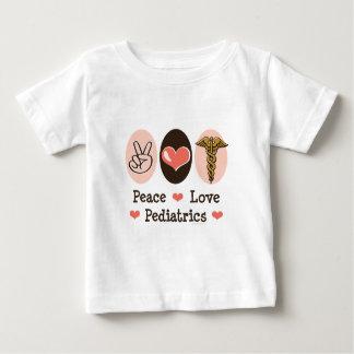 Peace Love Pediatrics Baby T-shirt
