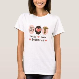 Peace Love Pediatrics Pediatrician T-shirt
