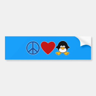 Peace Love Penguin Baby T-shirts, Mugs Bumper Sticker