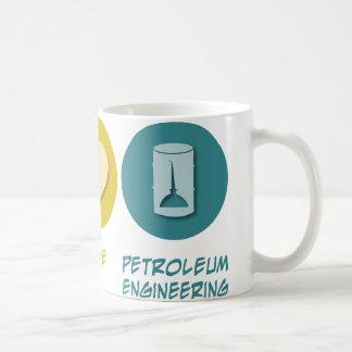 Peace Love Petroleum Engineering Mugs