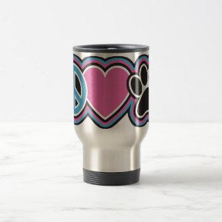 Peace-Love-Pets Travel Mug
