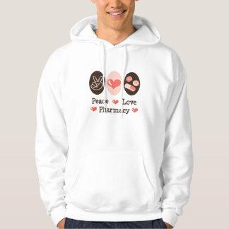 Peace Love Pharmacy Hooded Sweatshirt