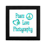 Peace Love Photography Gift Boxes