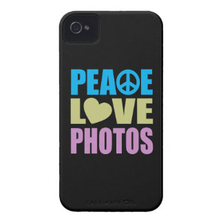 Peace Love Photos iPhone 4 Cases