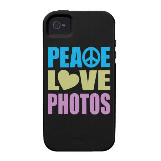 Peace Love Photos iPhone 4/4S Cover