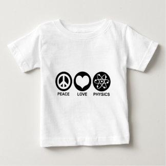Peace Love Physics Baby T-Shirt