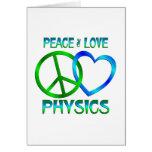 Peace Love PHYSICS Cards
