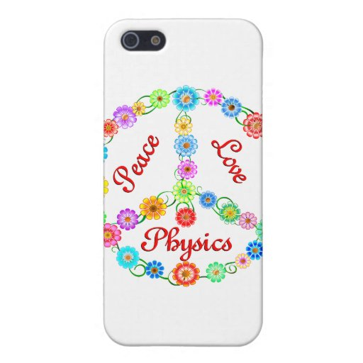 Peace Love Physics Cases For iPhone 5