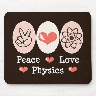 Peace Love Physics Mousepad