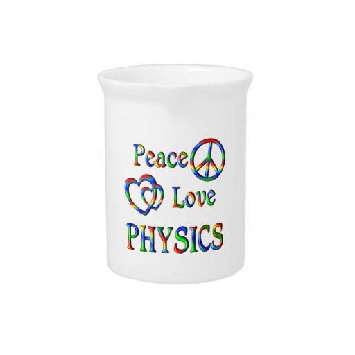 Peace Love PHYSICS Pitchers