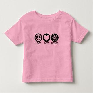 Peace Love Physics Toddler T-shirt