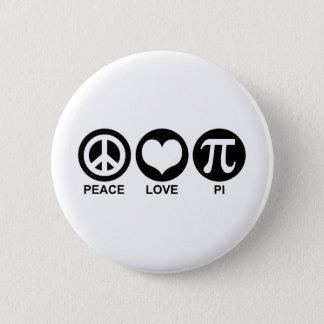 Peace Love Pi Button