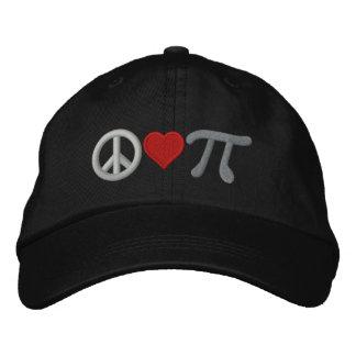 Peace Love Pi Cap